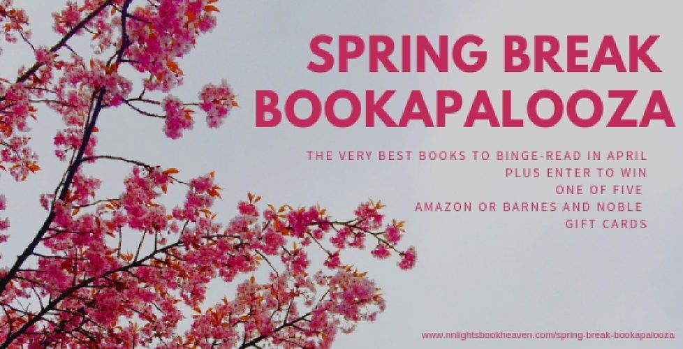 2019 Spring Break Bookapalooza Website Header