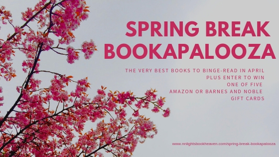 2019 Spring Break Bookapalooza Website Header