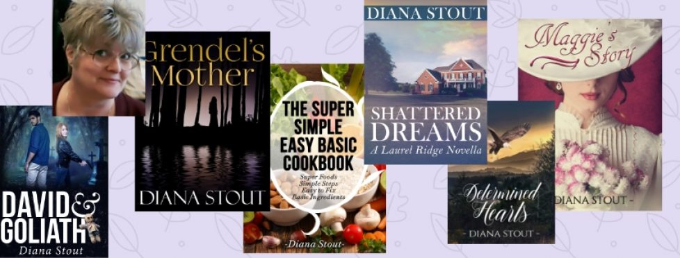 Banner wDiana & 6 books