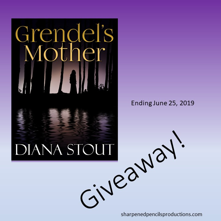 Goodreads Giveaway - 100 copies Grendel's Mother June 2019