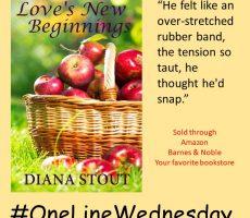 #OneLineWedneday - Love's New Beginnings