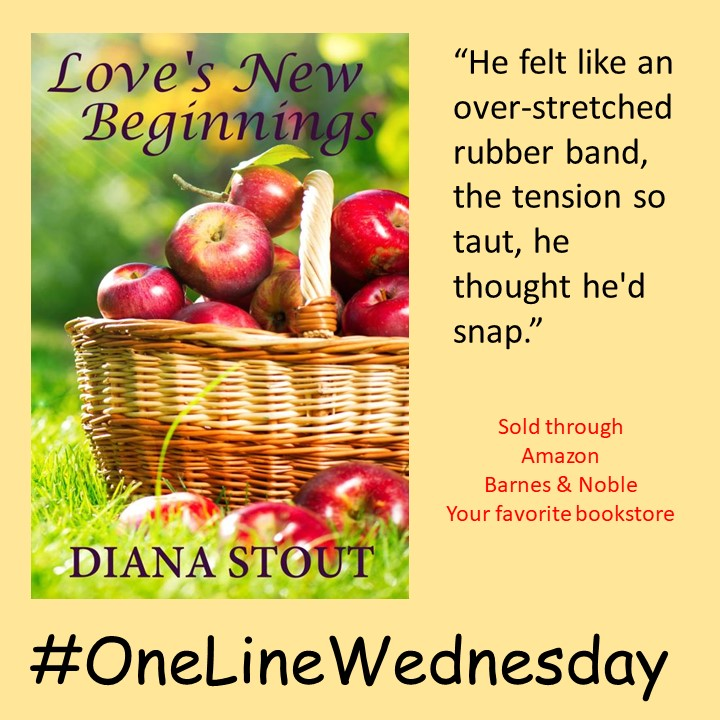 #OneLineWedneday - Love's New Beginnings